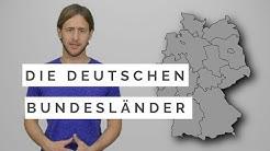 Die deutschen Bundesländer und Hauptstädte einfach erklärt