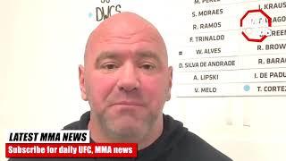 Dana White- if Conor Mcgregor beats Cerrone he gets a Khabib rematch
