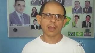 Jurandir Rodrigues Presidente do SINTSEMQ foi a Câmara falar sobre Plano Cargos e Carreiras