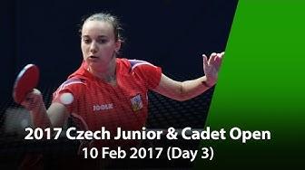 2017 Czech Junior & Cadet Open - Day 3