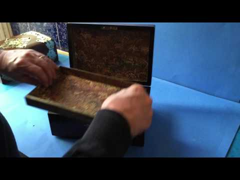 English Antique Victorian Jewellery Box For Sale
