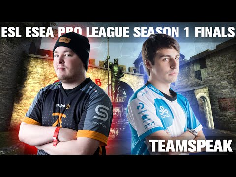 CS:GO - Cloud9 [teamspeak] vs Fnatic (cbble) @ ESL ESEA Pro League Finals