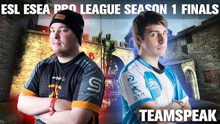 CS:GO - Cloud9 [teamspeak] vs Fnatic (cbble) @ ESL ESEA Pro League Finals