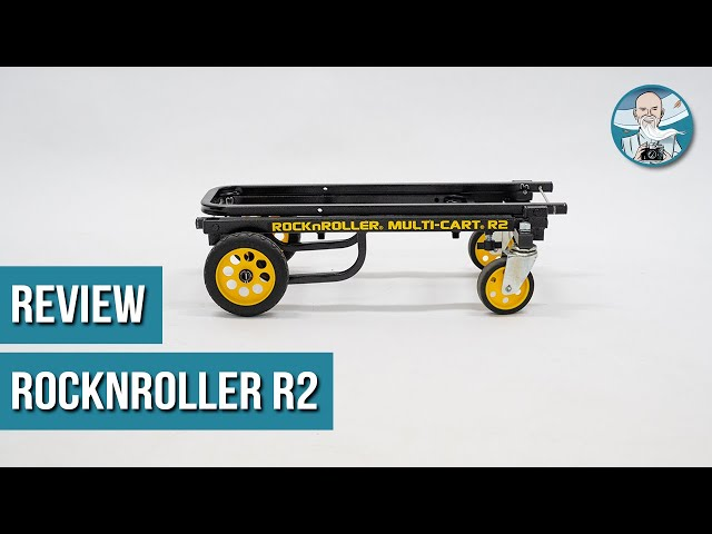 Review RocknRoller R2 Micro Multi-Cart (NEDERLANDS)