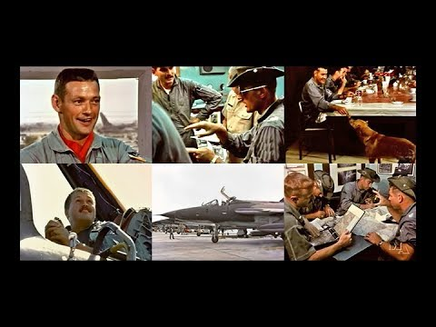 F-105 Thunderchiefs and their Pilots in Action - 1966