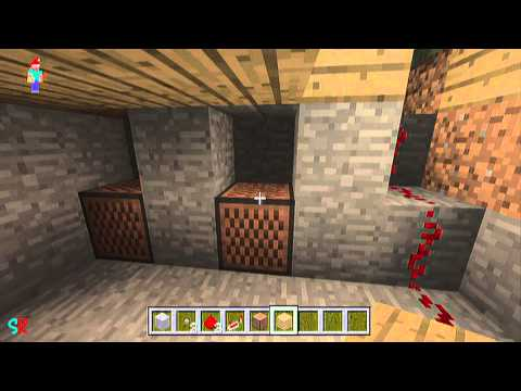 Minecraft Quick Tips [How To Make A Doorbell] Minecraft Xbox 360