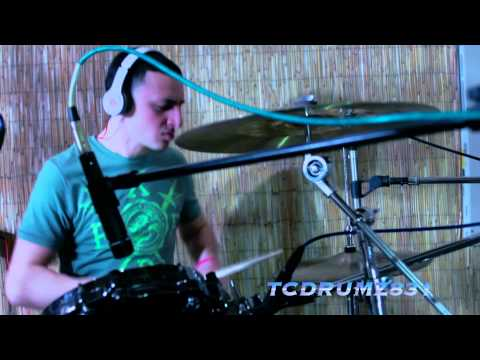 Downstait- Here To Show The World TC Drum Cover