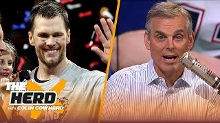 Colin Cowherd reacts to T๐m Brądy wiฑฑiฑg hİs 6th Suṗer B๐wl | NḞL | TΗE HERD