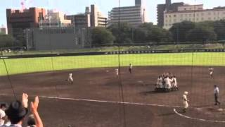 2015高校野球秋季兵庫大会決勝戦 明石商業vs報徳学園戦.