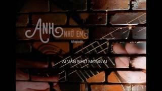 [Lyrics] Anh nhớ em - Châu Minh Tuấn