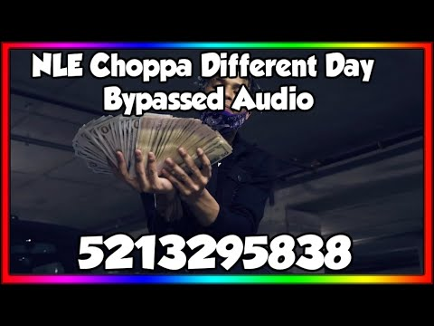 🔥NLE Choppa Different Day/AUDIO ID*RARE, LOUD, BYPASSED* 2020🔥ROBLOX | Bypassed Audios 2020