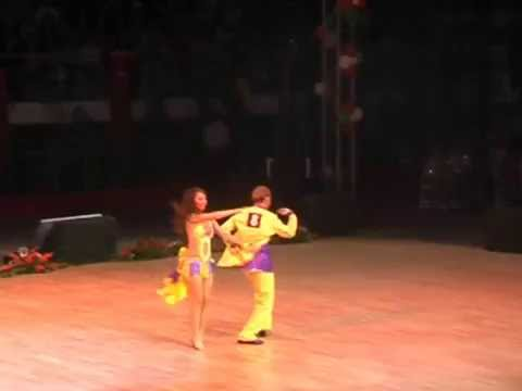 International Carrabian Dances Championship 2008 World Salsa Champions Cihat Can & Gizem Senyaprak