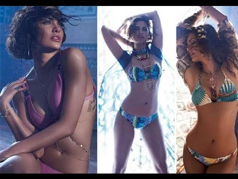 Esha Gupta's bikini photoshoot  for ELLE : Hot,Sexy and Sensuous picutres Mp3