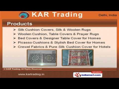 Rugs & Cushion Covers by KAR Trading, New Delhi