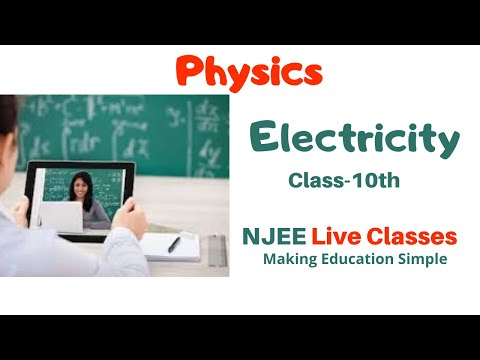 ELECTRICITY Physics Class-10th, 9th CBSE, ICSE, IGCSE, Board Exams