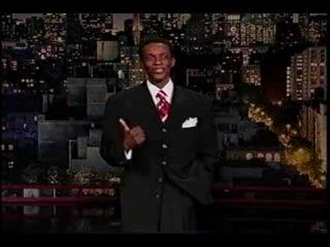 Reggie Reg on The Late Show With David Letterman