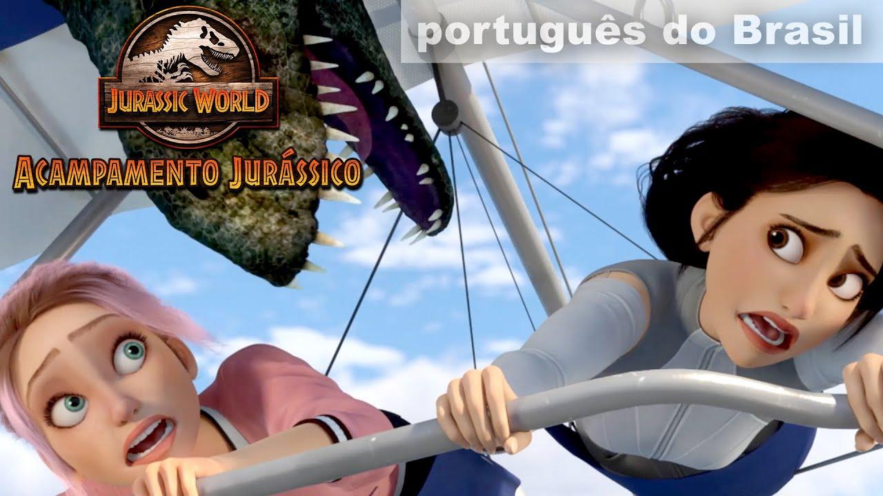 Voando com Dimorfodontes | JURASSIC WORLD: ACAMPAMENTO JURÁSSICO | NETFLIX