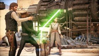 Star Wars Battlefront 2 Heroes Vs Villains 121 Bearded Han Solo