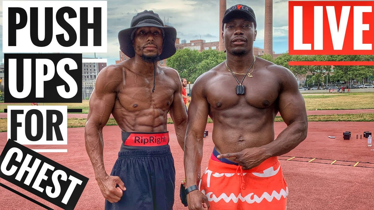 Push up Workout for Strength | Ft @RipRightHD