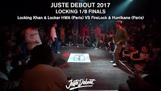 FireLock & Hurrikane VS Locking Khan & Locker HWA -