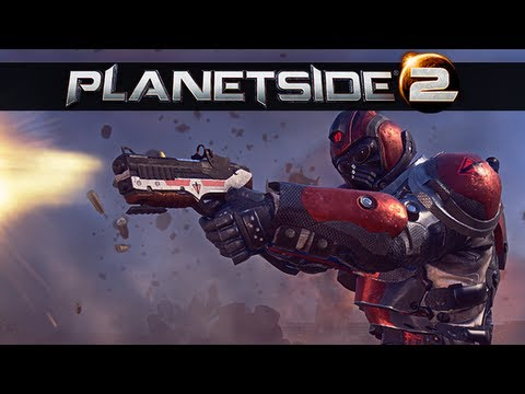 PlanetSide 2 Multiplayer Gameplay - First Impressions Let ...