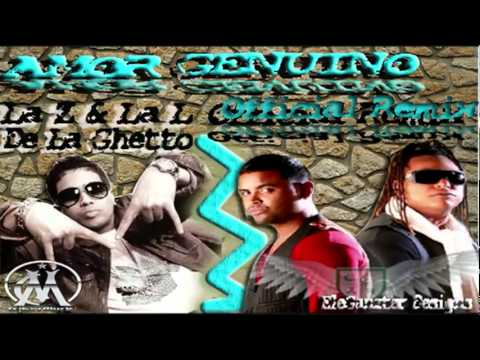 zion lennox ft de la ghetto   amor genuino official remix mp3 free con letra