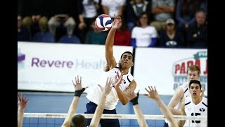 Gabriel Garcia Debut at BYU Volleyballl Highlights