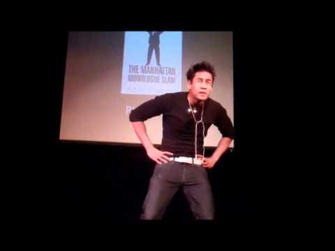 ACtor Puneet Prasad Manhattan Monologue Slamming