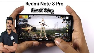 Redmi Note 8 Pro Gaming Review & Heating Test ll in Telugu ll