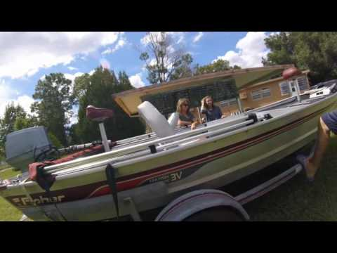 Today I Bought A 16' Fisher Marsh Hawk Boat (Sept. 23, 2016)