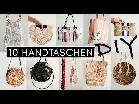 10 Selbstgemachte DIY Handtaschen