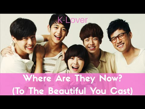 Where Are They Now? (To The Beautiful You Main Cast)