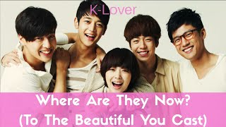 Video Where Are They Now? (To The Beautiful You Main Cast) download MP3, 3GP, MP4, WEBM, AVI, FLV September 2018