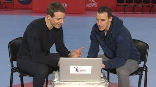Handball-EM - Alex Bommes und Dominik Klein erklären die deutsche Defensive