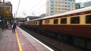 (HD) WCR 57601 + 57006 thrash through West Ealing - 1Z45