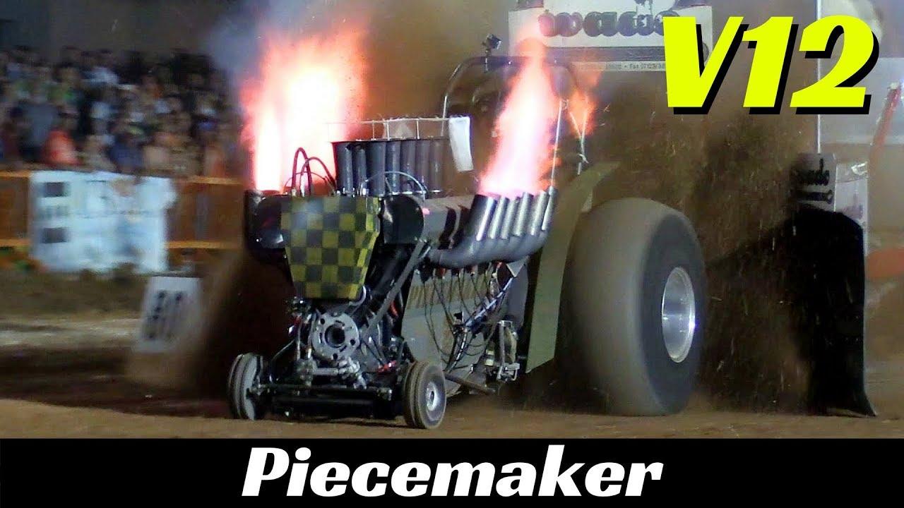Piecemaker - Rolls-Royce Griffon V12 Engine - 1600hp!!! - Epic Flames & Pure Sound!