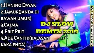 Top Hits -  Dj Slow Remix Terbaru 2019 Bass Mantull Enak