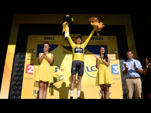 Tour de France: Chris Froome back in the yellow jersey