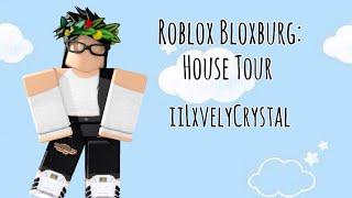 Roblox Bloxburg: House Tour - Roblox (Première Vidéo) iiLxvelyCrystal