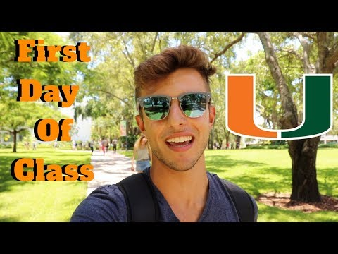 FIRST DAY OF COLLEGE VLOG | UNIVERSITY OF MIAMI | SOPHOMORE YEAR