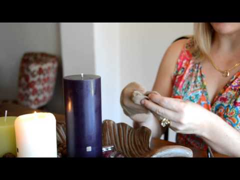 How To Properly Burn Pillar Candles