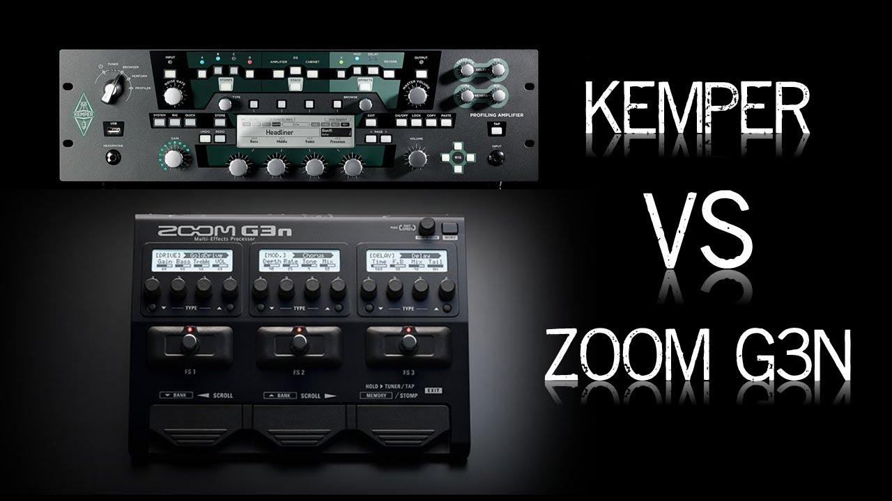 Kemper vs Zoom A/B test | ToneLib Community Forum