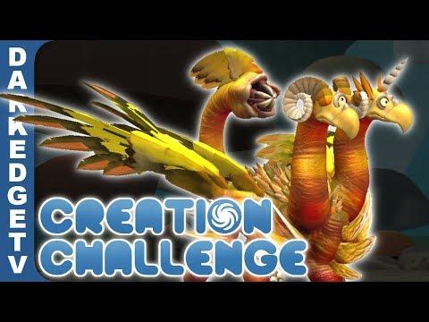 Spore Creation Challenge - Uneven Number of Parts