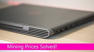 Dell Inspiron 7000 Gaming Laptop REVIEW 7577 - GTX 1060 Best Budget Gaming Laptop - Cure for Mining