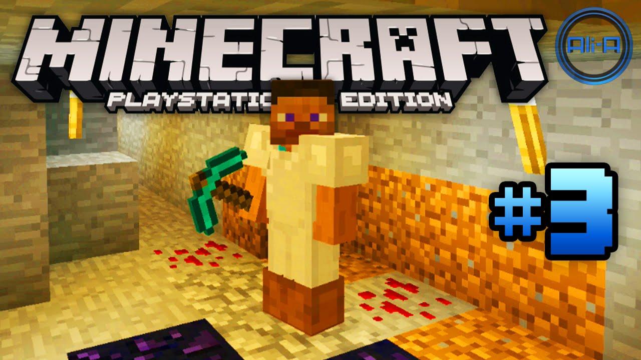 Minecraft Ps Gameplay Part  Diamond Hunt Playstation  Minecraft Xbox One Minecraft Youtube