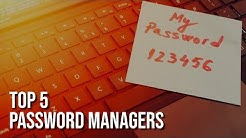 Top 5 Best FREE Password Managers (2018)