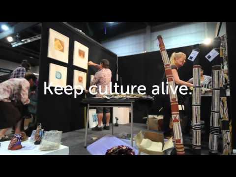 Keep Culture Alive - Darwin Aboriginal Art Fair 2012
