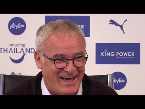 Claudio Ranieri Full Pre-Match Press Conference - Manchester United v Leicester