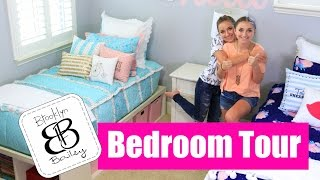 Teen Girl Bedroom Tour | Brooklyn and Bailey(Use Coupon Code