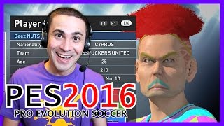 THE UGLIEST TEAM EVER! (PES 2016)(The ugliest team you've ever seen on Pro! Main Channel: https://www.youtube.com/user/firekreve2j Facebook: https://www.facebook.com/GeorgeIoannou2J 2J ..., 2015-10-01T10:57:42.000Z)